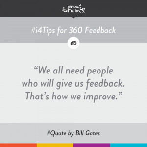... feedback' or '4 situations where 360 feedback might not be the