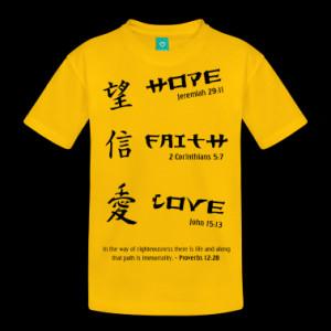 gifts bible verse hope faith love bible verses t shirt