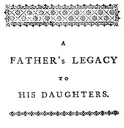 John Gregory, _A Father's Legacy_