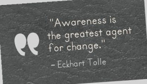 greatest agent for change eckhart tolle picture quote