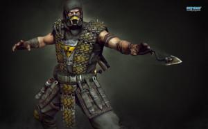 Scorpion - Mortal Kombat wallpaper 1280x800