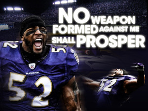 No Weapons.... Ray Lewis by DarkGX