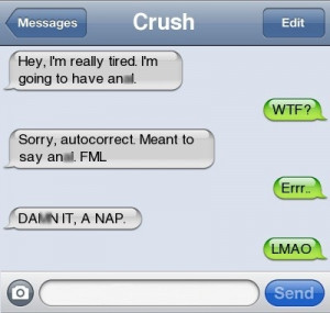 Not Really Something You Want To Say To Your Crush!!!!