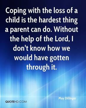 Coping With The Loss Child
