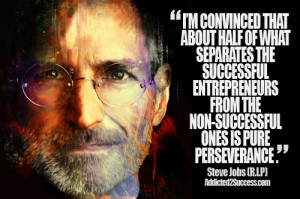 Steve Jobs Entrepreneur Picture Quote For Success