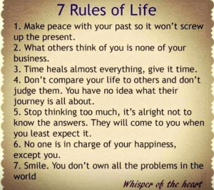 Rules of Life - Love love love