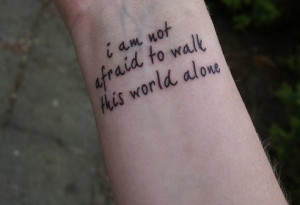 my chemical romance, quote, tattoo, text - inspiring picture on Favim ...
