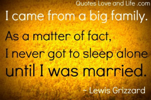 Marriage Quotes - Sleeping alone