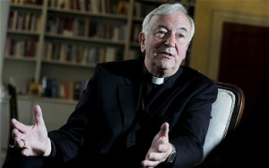 Archbishop Vincent Nichols will say tomorrow that it will soon be ...