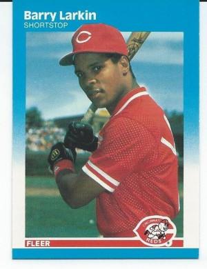 Barry Larkin Baseball Card Value