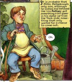 Bilbo Baggins Art Print by Brad Collins Art & Illustration