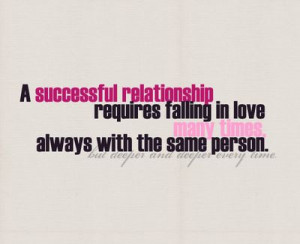 ... same person.But deeper and deeper every time. Love Relationships Quote
