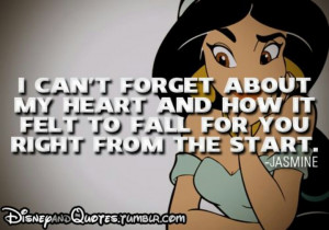 Aladdin Love Quotes Inspiring quote by jasmine