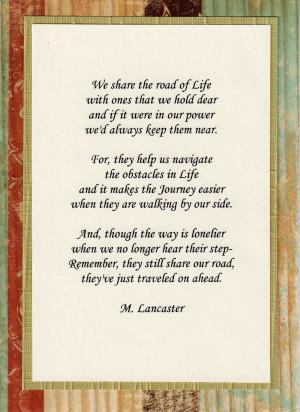 Sympathy Poems -