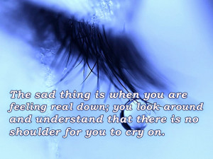 Sad Quotes With Sad Quotes Wallpapers For F.B