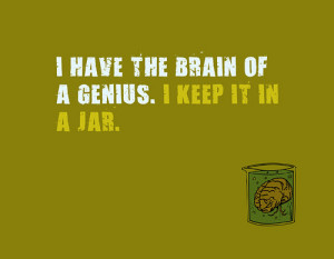 Funny Brain Quotes