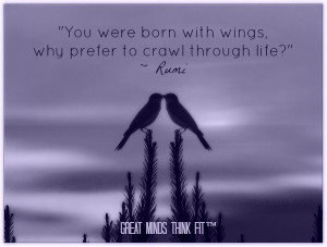 famous rumi quotes with rumi posters and books