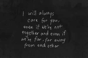 will still love you, no matter what I do...