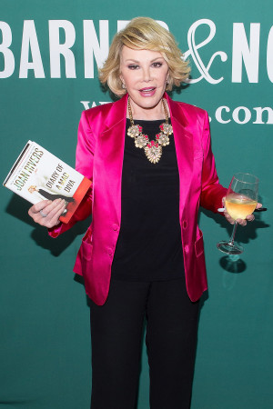 Joan Rivers, Fashion's Funniest Voice, Has Passed Away