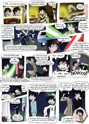 GD+MCR Star Wars comic by Chocoreaper