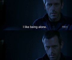 alone, gregory house, house md, hugh laurie, subtitles - inspiring ...