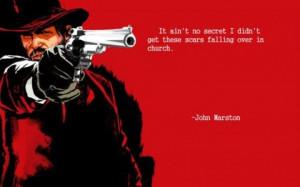 John Marston quote.