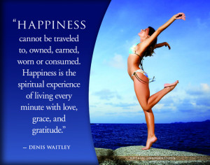 denis waitley quote on happiness