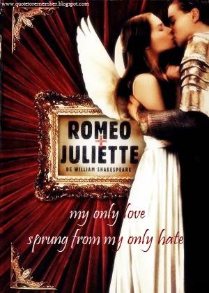 Love Quotes Romeo And Juliet Mercutio