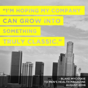 ... quote #BlakeMycoskie #inspire #inspiration Blake Mycoskie One for One