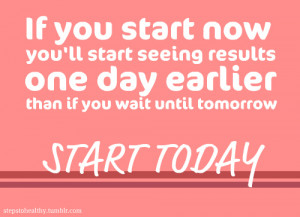Let's make it a great week! Get out there and get your workout in, you ...