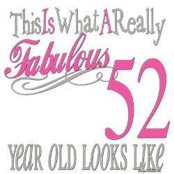 fabulous_52yearoldpng_greeting_cards_pk_of_20.jpg?height=250&width=250 ...