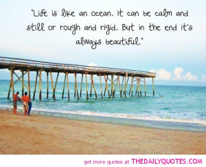 Welcome the Ocean Quotes About Life arrival of warm weather with ...