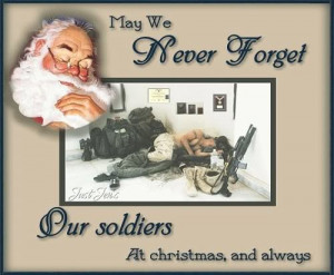 Merry Christmas to all our Troops, Veterans, and their families!