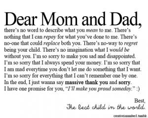 Dear mom and dad :) - random Photo