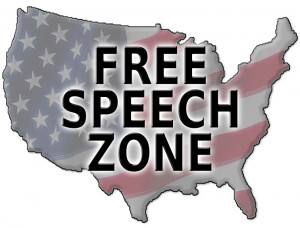 According to the opening lines of Wikipedia, the Freedom of Speech is: