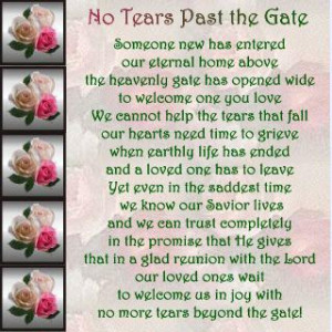 bless her family and you during this time and help to ease your loss i ...