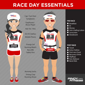 everything you need on Race Day! Here's a quick Pinoy Fitness Race ...