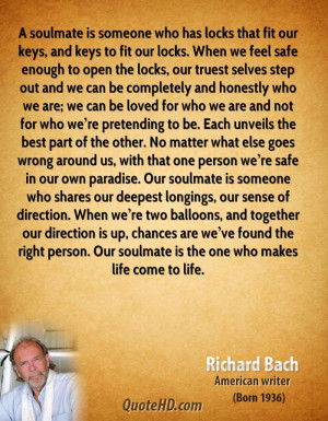 Richard Bach Quotes Soulmates