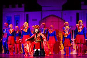 "High School junior Aidan Descourouez plays Lord Farquaad in ""Shrek ..."