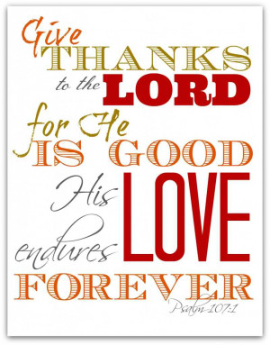 Thanksgiving Bible Verses 13