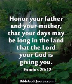 Bible Verses ♥ Ephesians 6:1-3 ♥ Children, obey your parents ...