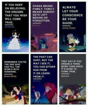 Disney has the best mottos!♥