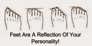Is your second toe longer than your big toe? The shape of your foot ...