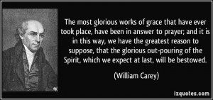 More William Carey Quotes