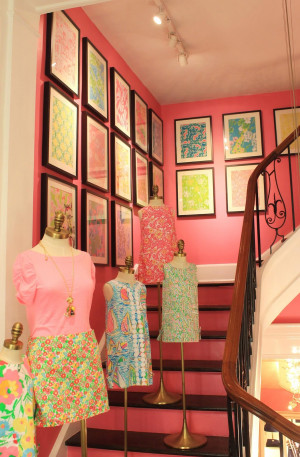 Punch of Pink at Lilly Pulitzer Madison Avenue