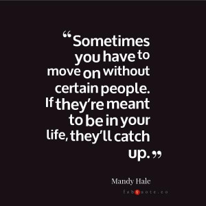 Mandy hale moving on quote