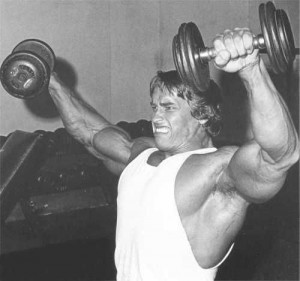 Arnold pumping Iron- JackedPack.com