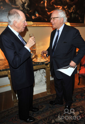 Jacob Rothschild. Positive View Foundation - launch party held at ...