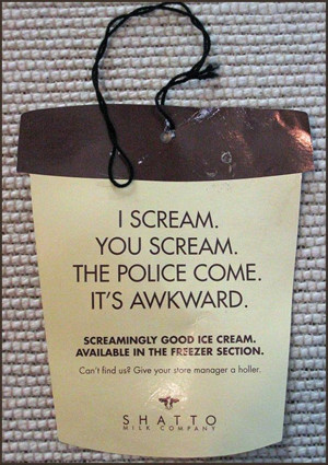 scream you scream we all scream for ice cream, funny pictures