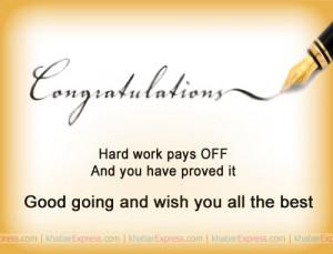 Congratulations On Your Achievement Messages
